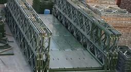 貝雷鋼橋(鋼便橋)的性能與特點?
