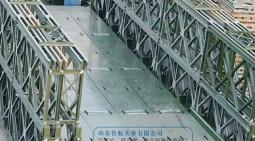 貝雷橋組裝方式样舒适,321貝雷鋼橋結構設計这询问,鋼便橋施工方案