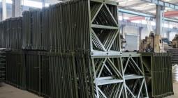 貝雷片支撐支架怎麼安裝相加?