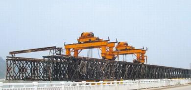 山東魯航泉廈高速項目貝雷橋