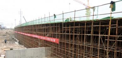 山東魯航濟南城建小清河濼口大橋工程