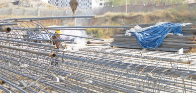 山東魯航中國水電基礎局京滬高鐵聲測管工程