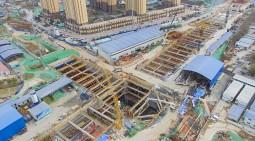 地鐵基坑支護-中鐵五局濟南軌道交通R2項目
