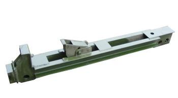 鋼便橋陰陽頭端柱